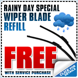 Subaru Windshield Wiper Service Special serving Redondo Beach & Torrance, CA