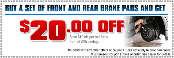 Subaru Brake Pads Parts Special Serving Hermosa Beach, CA