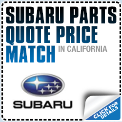 Subaru Price Match Parts Special Serving Redondo Beach, CA