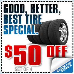 Get great prices on tires for your Subaru with this special offer from Subaru Pacific in Torrance, CA