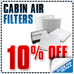 Save on genuine Subaru cabin air filters with this special offer from Subaru Pacific in Torrance, CA