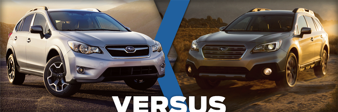 2015 Subaru Outback Vs 2015 Subaru Xv Crosstrek Model