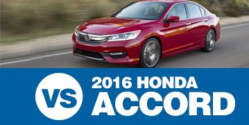 Click to Compare The 2016 Subaru Legacy & 2016 Honda Accord Models