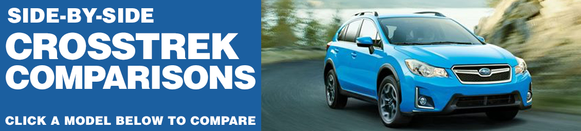New 2016 Subaru Crosstrek Model Comparisons