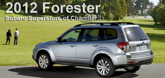2012 subaru forester phoenix subaru superstore of chandler arizona. Black Bedroom Furniture Sets. Home Design Ideas