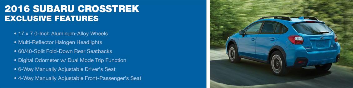 New 2016 Subaru Crosstrek Features
