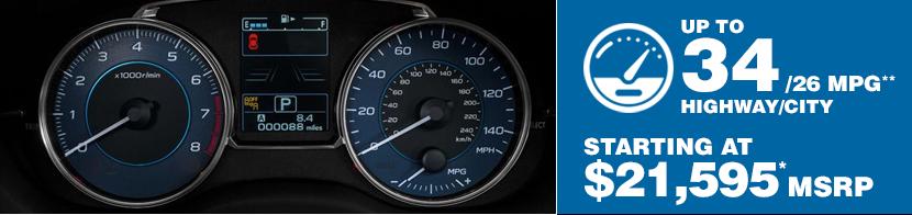 2016 Subaru Crosstrek Fuel Mileage