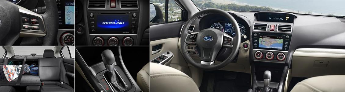 New 2016 Subaru Impreza Interior Style