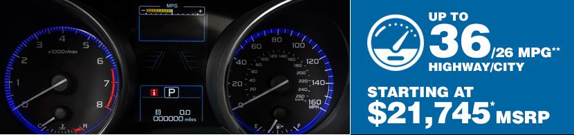 2016 Subaru Legacy Fuel Mileage