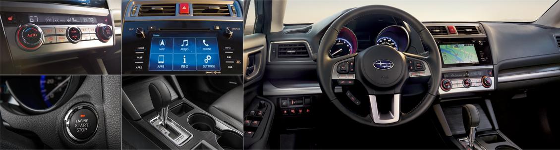New 2016 Subaru Legacy Interior Style