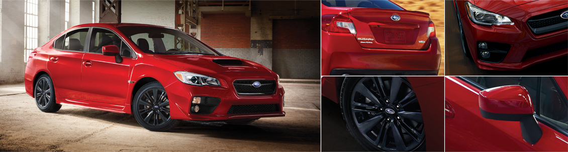 New 2016 Subaru WRX Exterior Design