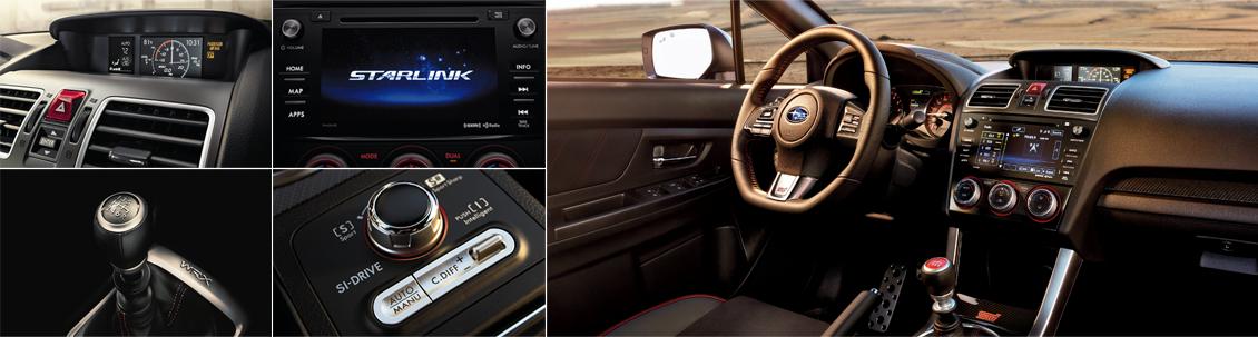 New 2016 Subaru WRX Interior Style
