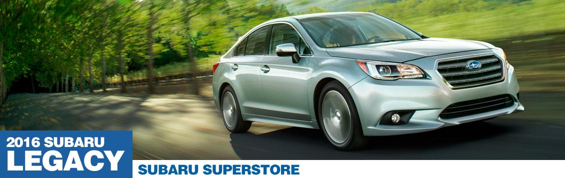 New 2016 Subaru Legacy Model Features in Chandler, AZ