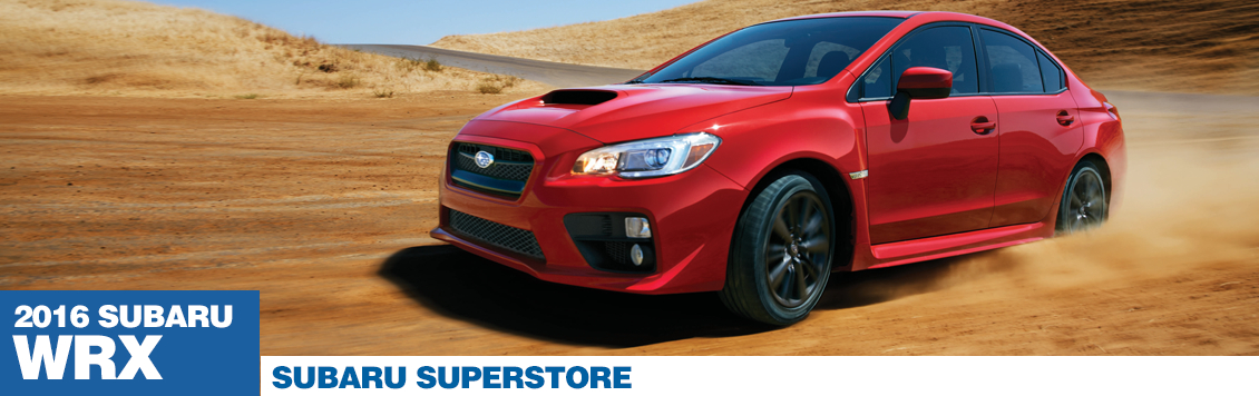 New 2016 Subaru WRX Model Features in Chandler, AZ
