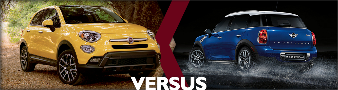 2016 FIAT 500X VS MINI Countryman Features & Detail Comparison