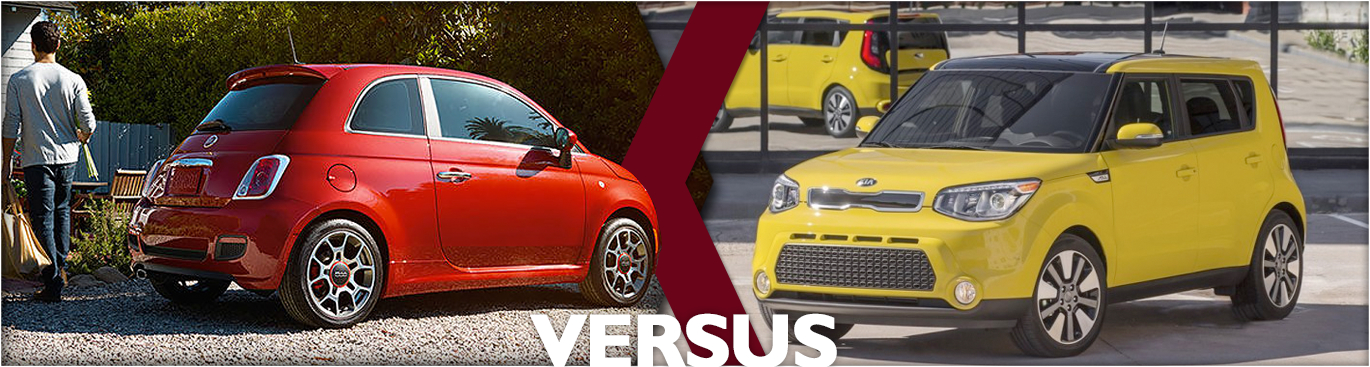 2016 FIAT 500 VS Kia Soul Features & Detail Comparison
