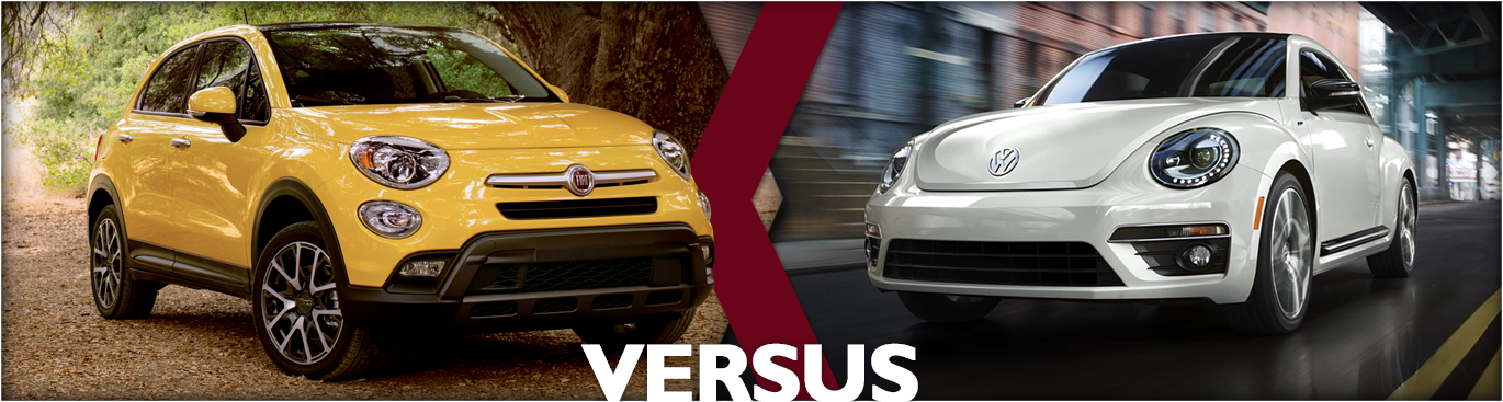 2016 FIAT 500x vs 2016 Volkswagen Beetle Comparisons | Tacoma, WA