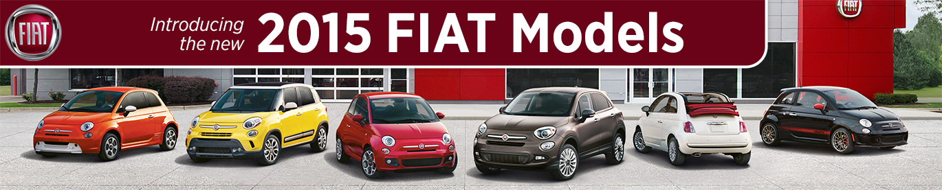 Research New 2015 Fiat Models at Alfa Romeo and Fiat of Tacoma serving Kirkland, WA