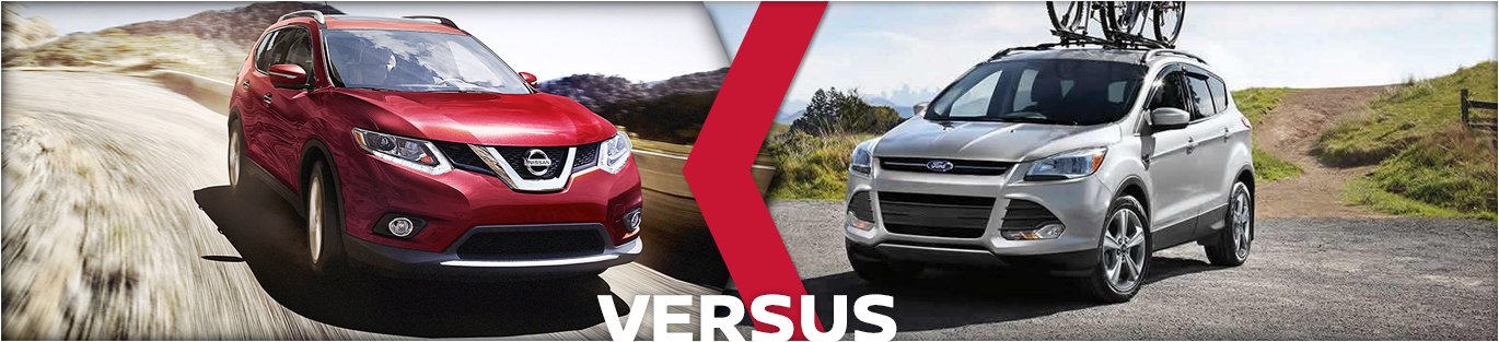 New 2016 Rogue Vs 2016 Ford Escape Model Comparison