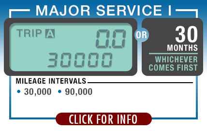 Subaru Recommended Major Maintenance 1 | Every 30,000 Miles or 30 Months