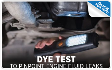 Subaru Engine Fluid Leak Dye Test Service Serving Temecula, CA