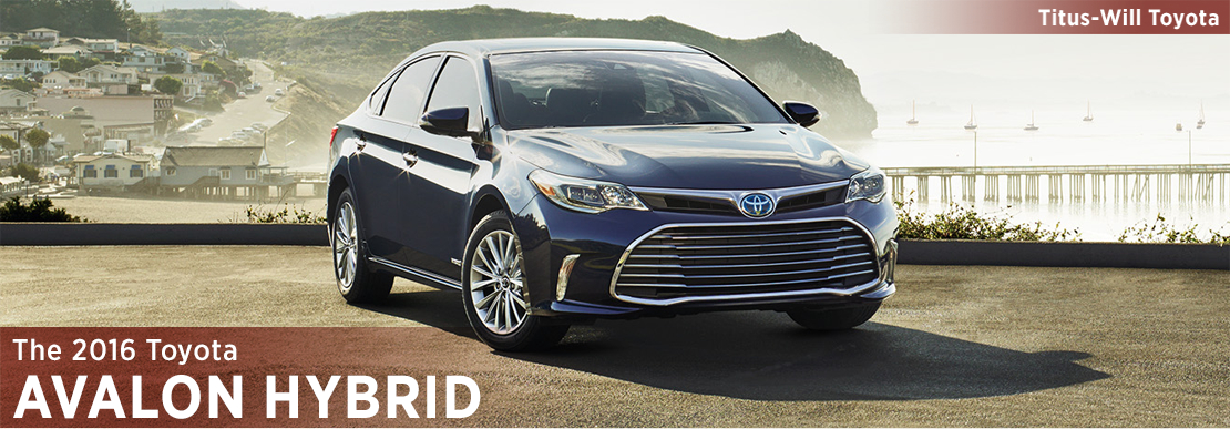 2016 Toyota Avalon Hybrid Model Information in Tacoma, WA