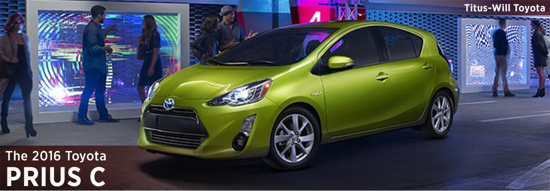 2016 Toyota Prius c Model Information in Tacoma, WA