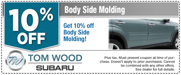 Subaru Body Side Moldings Parts Special serving Zionsville, IN