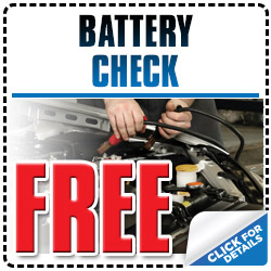 Free Subaru Battery Condition Check Service Special Discount Coupon serving Tucson, Arizona