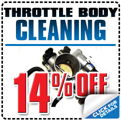 Tucson Subaru Throttle Body Cleaning Service Special Discount Coupon serving Oro Valley & Mesa, Arizona