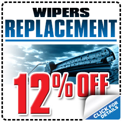 Genuine Subaru Windshield Wiper Blade Replacement Service Special Discount Coupon serving Tucson, Arizona