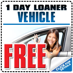 Subaru Free 1 Day Loaner Car Service Coupon Special Tucson, AZ