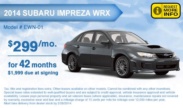 Subaru Crosstrek Lease Deals Lamoureph Blog
