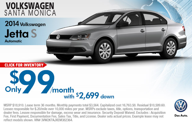 New 2015 Volkswagen Jetta Lease Specials | Los Angeles Vehicle Discount Offers