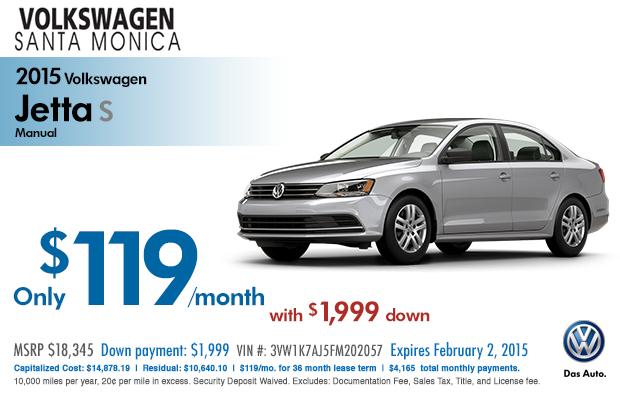 Volkswagen Lease Specials >> Volkswagen Jetta Deals Auto Guide