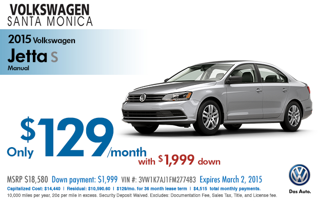 volkswagen jetta lease specials los angeles vehicle discount offers