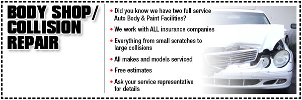 Wentworth Chevrolet Body Shop and Collision Center Special Offers ...