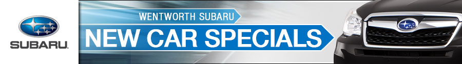 Wentworth Subaru New Car Specials