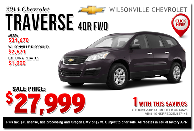 new 2015 chevy car specials portland salem or new suv. Cars Review. Best American Auto & Cars Review