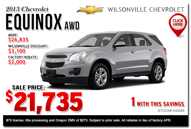 new 2014 chevy car specials portland salem or new suv. Cars Review. Best American Auto & Cars Review