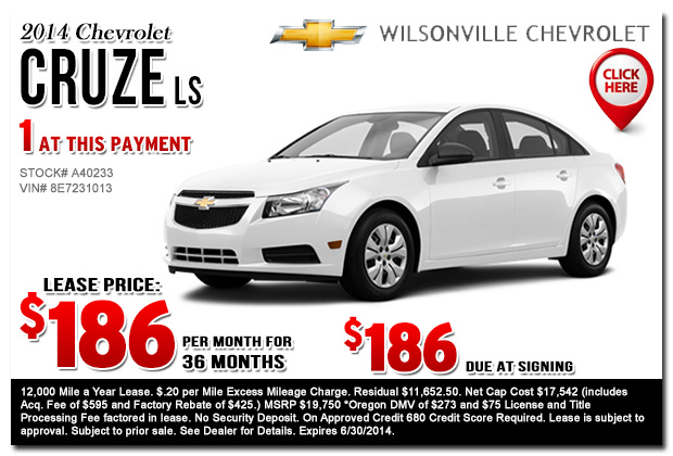 new chevrolet lease specials portland salem or. Cars Review. Best American Auto & Cars Review