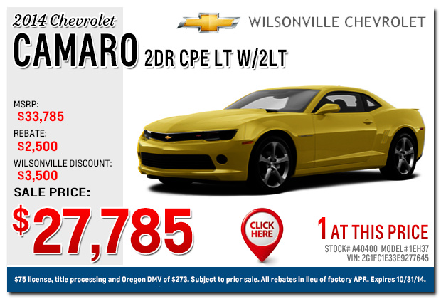 Ron Tonkin Chevy 503 258 6480 Dealer Portland Chevrolet