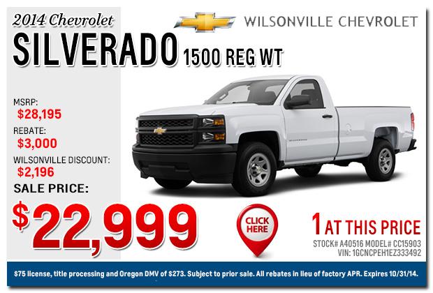 Portland Chevrolet Dealer New Silverado Truck Specials | 2017 - 2018 Cars Reviews