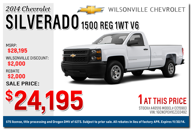 new 2014 2015 chevy silverado discount specials. Cars Review. Best American Auto & Cars Review