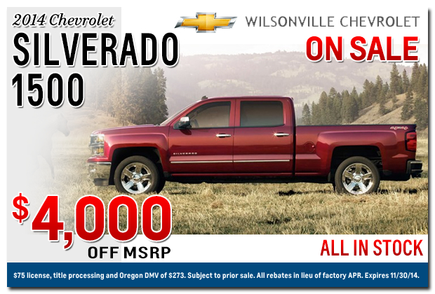 portland chevrolet dealer new silverado truck specials. Cars Review. Best American Auto & Cars Review
